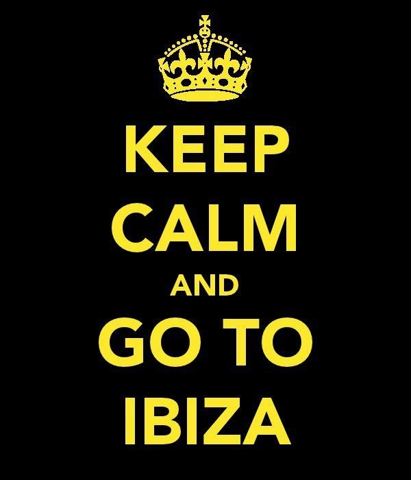 Don't mind if I do.. Ibiza bound!