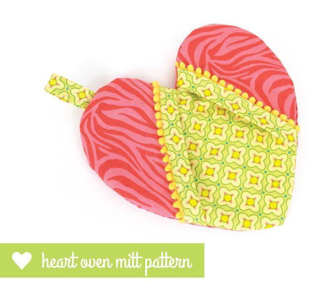 dresdencarrie: Valentine heart oven mitt pattern