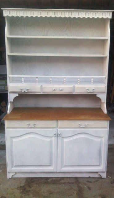 Farmhouse Cottage Welsh Dresser Side Table Nice Shabby Chic Cupboard On Gumtree