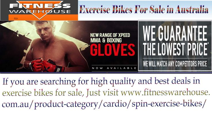 If you are searching for high quality and best deals in exercise bikes for sale, Just visit http://www.fitnesswarehouse.com.au/product-category/cardio/spin-exercise-bikes/