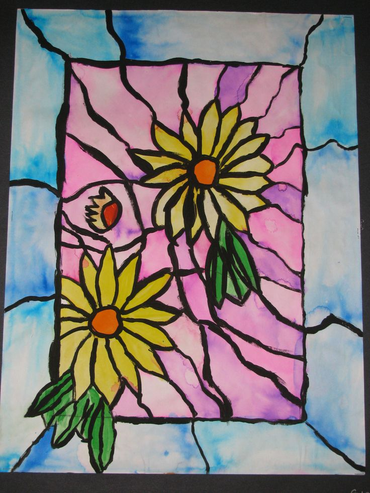 how to teach stained glass
