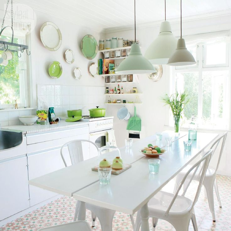 Step into spring with these vibrantly fresh colour palettes for your home.