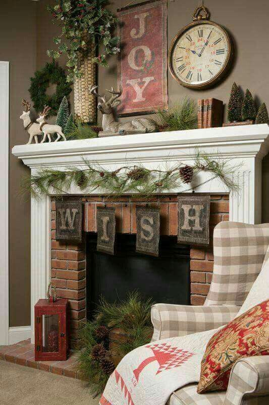 Faux Fireplace With Flat Black Wall