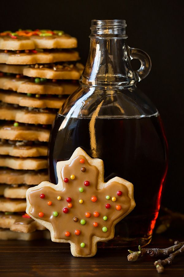 Glazed Maple Shortbread Cookies - Cooking Classy