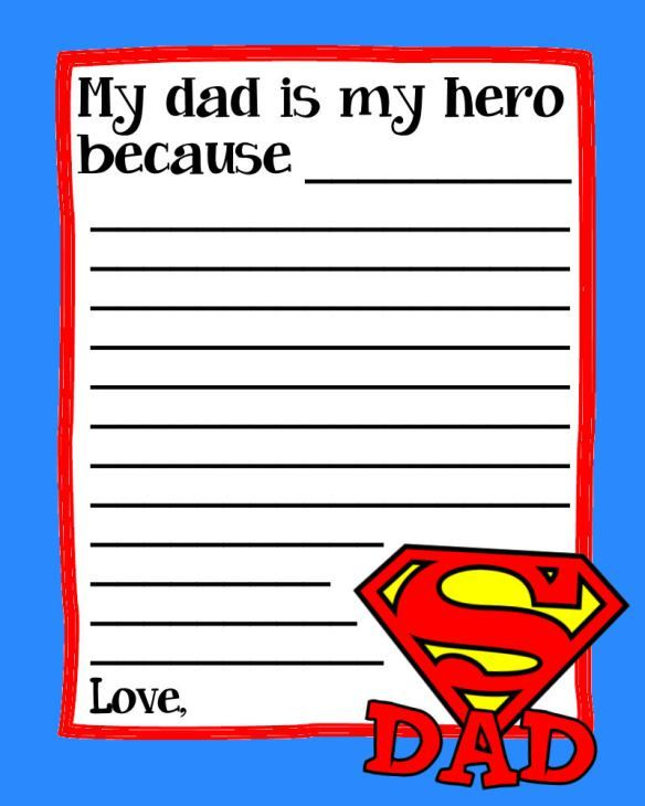 fathersday printable super