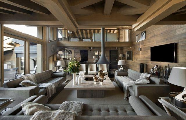 Location prestige Chalet Courchevel : Le chalet Mathilde, avec ses 300 m² de confort esprit ...
