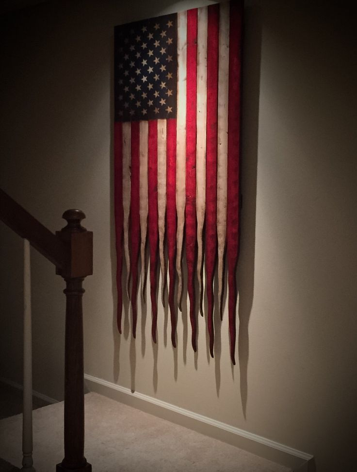 Large American Flag, American Flag Sign, Rustic American Flag, Vertical American Flag, Distressed American Flag, American Battle Flag by AmericanFlagShop on Etsy https://www.etsy.com/listing/281827488/large-american-flag-american-flag-sign