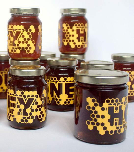 Studio Playground likes this packaging design: Picture of Laser-cut Honey Labels