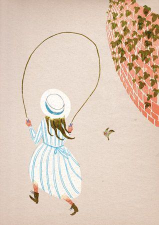The Secret Garden by Burnet, illustrated by Masako Kubo.