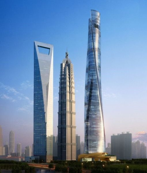 Shanghai Tower (632 m)