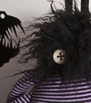 hairy face monster