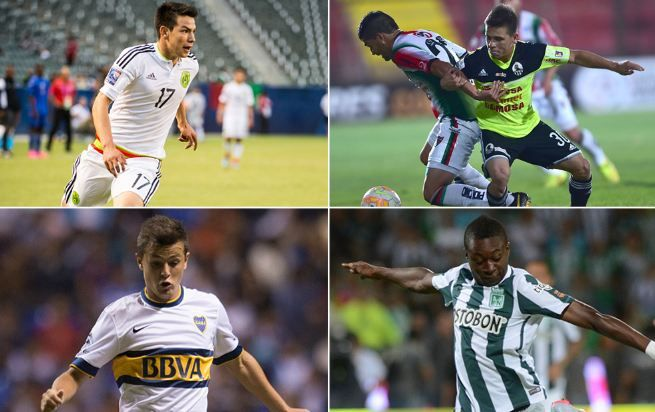 Conozca a las grandes promesas del fútbol latino