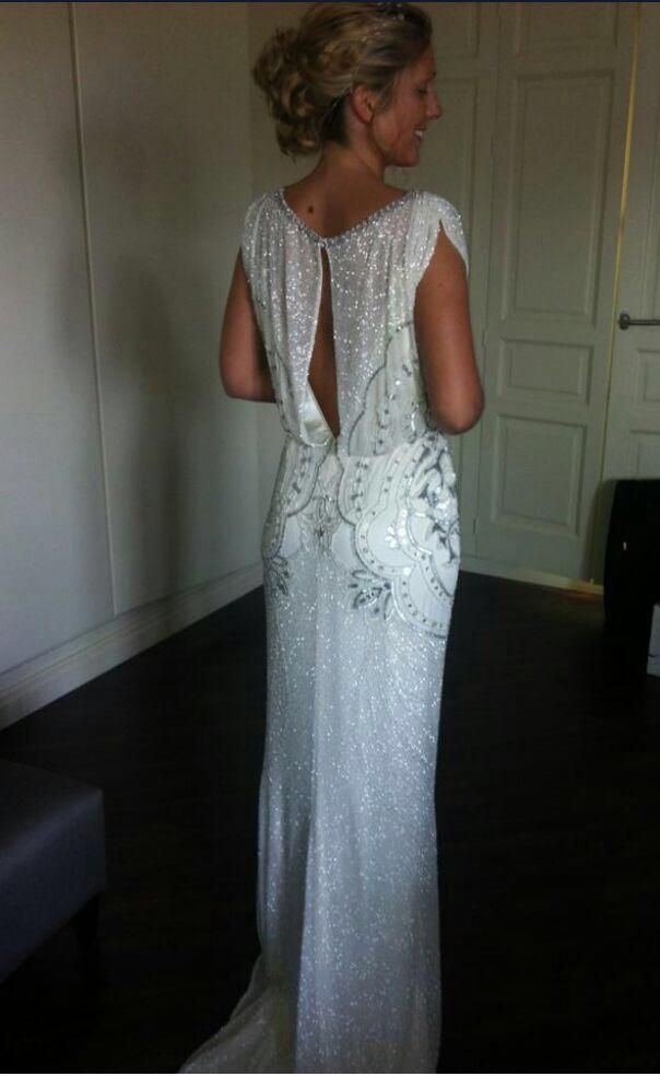 Stunning Jenny Packham ESME Dress Size 12 for sale