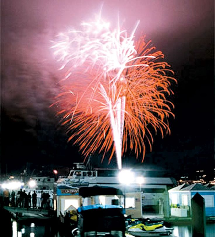 Thank the Powers that be:  Marina del Rey Fourth of July Fireworks are back for 2012!!!