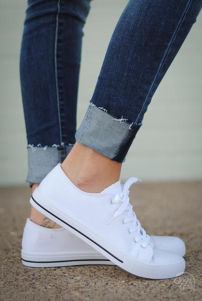 Play For Keeps Canvas Sneakers - White