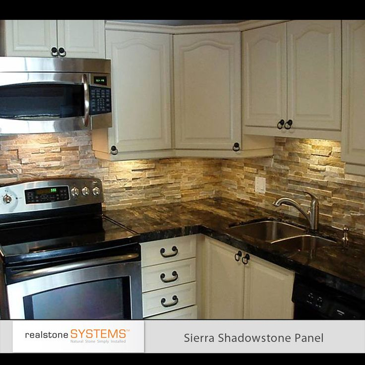 Stone Backsplash Kitchen best 25+ stone backsplash ideas on pinterest | stacked stone
