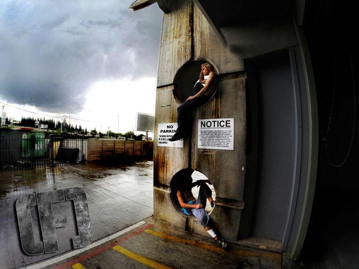 Tristan Wrench & Bjorn De Klerk just chillin, Cola Cola Dome Johannesburg