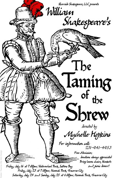 in defense of the ideas in the taming of the shrew a play by william shakespeare Does the taming of the shrew advocate sexual inequality or does it  article  created by: rachel de wachter themes: power, politics and  shakespeare's  globe theatre, london, in 2003 and revived in new york in 2016.