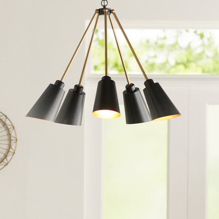 You'll love the Equinox 4 Light Candle Chandelier at AllModern - With Great Deals on modern Lighting  products and Free Shipping on most stuff, even the big stuff.
