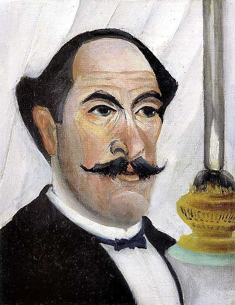 Self portrait of the Artist with a Lamp, 1903.
