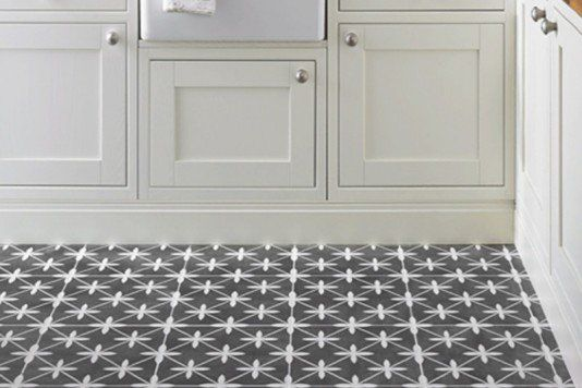 Laura Ashley Wicker Charcoal Wall & Floor Tiles 33x33cm - Tons of Tiles
