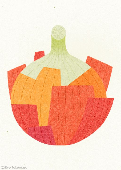 Onion // illustration by Ryo Takemasa.