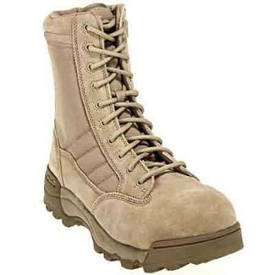 Original swat boots men s 9 inch composite toe side zip tan boot 1260 in Men Military Boots