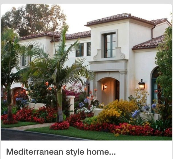 Exterior Pictures Of Mediterranean Style Homes Cities: Mediterranean Style Home With Fantastic Curb Appeal