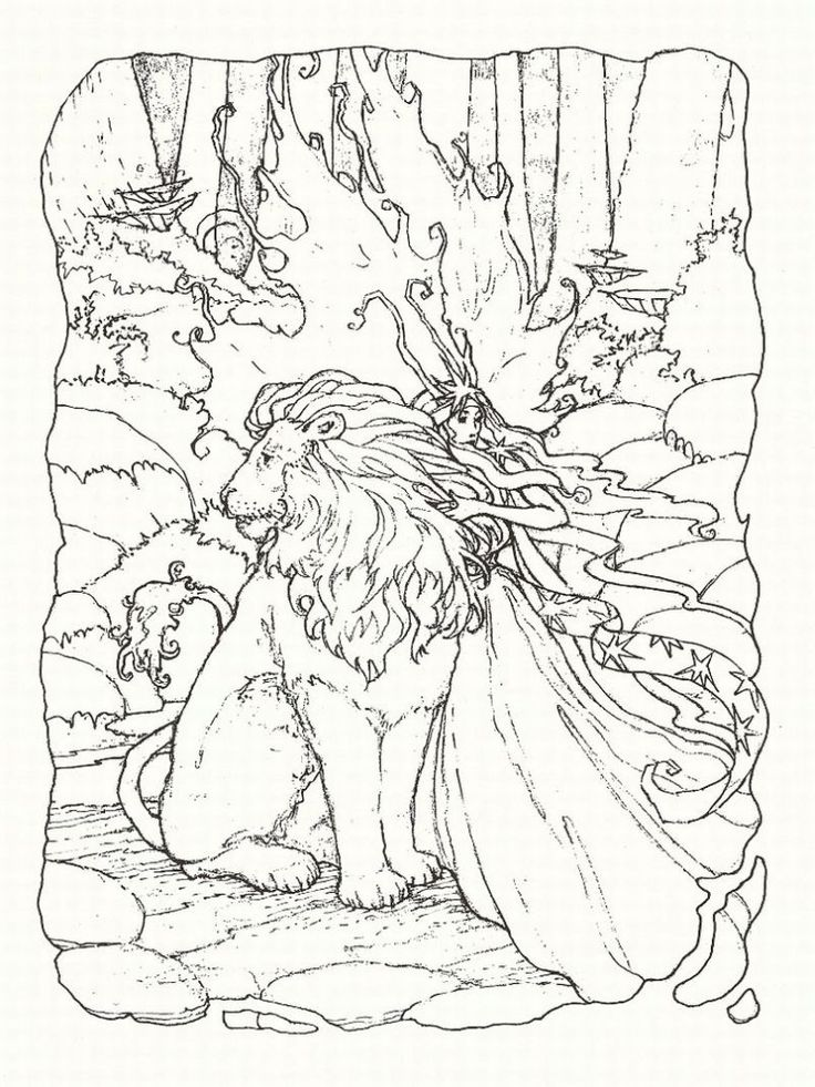 fantasy coloring pages 1 lrg coloring page free printable coloring pages