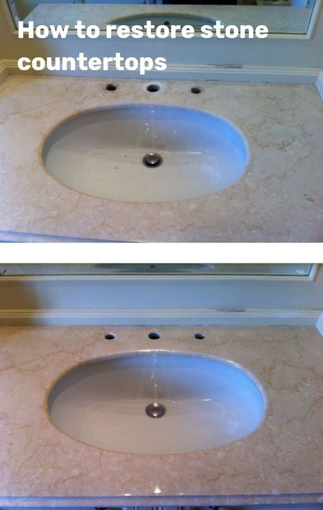 How Do You Restore A Marble Vanity Top Or How To Polish A Bathroom Countertop When Th Cleaning Marble Cleaning Marble Countertops Marble Countertops Bathroom