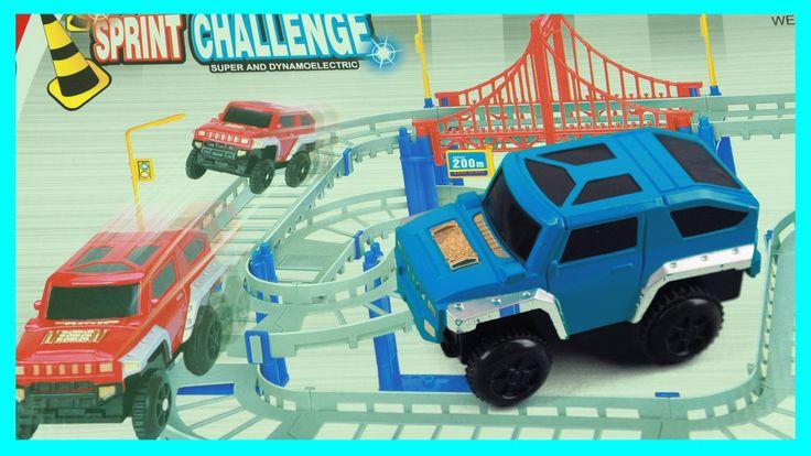 Track Set Motor Car Toys Playset 모터 자동차 장난감
