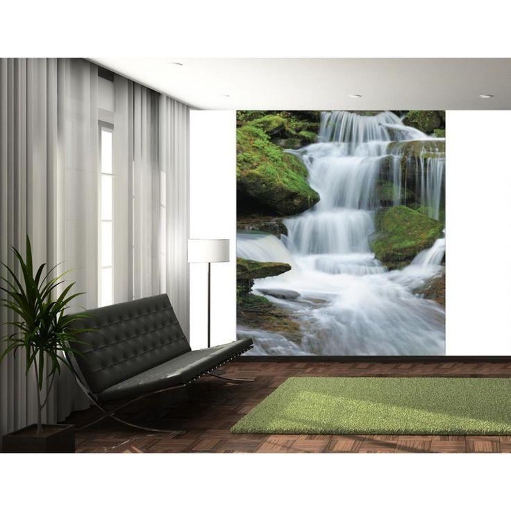 17 best ideas about waterfall wallpaper on pinterest for 1wall forest wallpaper mural
