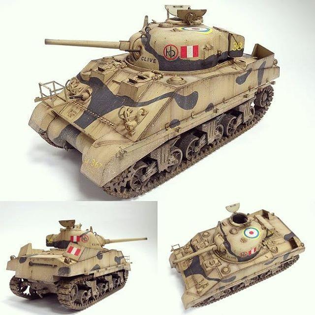 Sherman Mk III 1/35 Dragon  | Model tanks | Model tanks