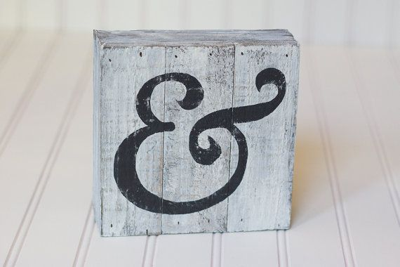 Hey, I found this really awesome Etsy listing at https://www.etsy.com/listing/263364103/hand-painted-ampersand-on-white-washed