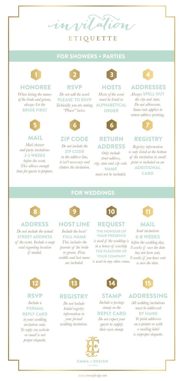 invitation etiquette: Invite Etiquette, Weddings Invitations Etiquette, Wedding Invitations, Invitation Étiquette, Events Invitations, Invitation Etiquette, Bride, Invitationetiquette, Manners