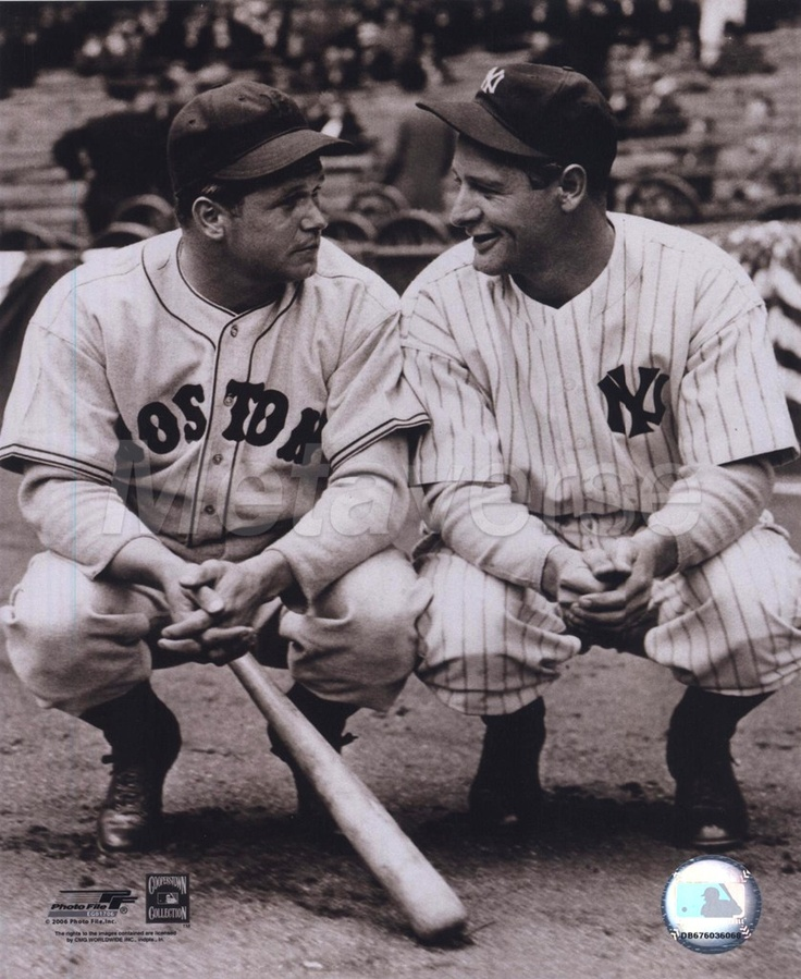 Jimmy Foxx and Lou Gehrig.