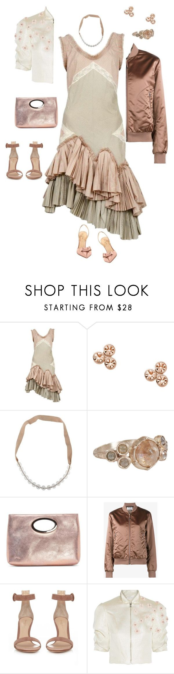"""Untitled #940"" by clothes-wise ❤ liked on Polyvore featuring Alexander McQueen, FOSSIL, Pianurastudio, Anaconda, Donald J Pliner, Acne Studios, Gianvito Rossi and Reem Acra"