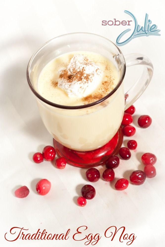 M s de 25 ideas incre bles sobre non alcoholic christmas drinks en pinterest bebidas de ni os - Traditional eggnog recipe holidays ...