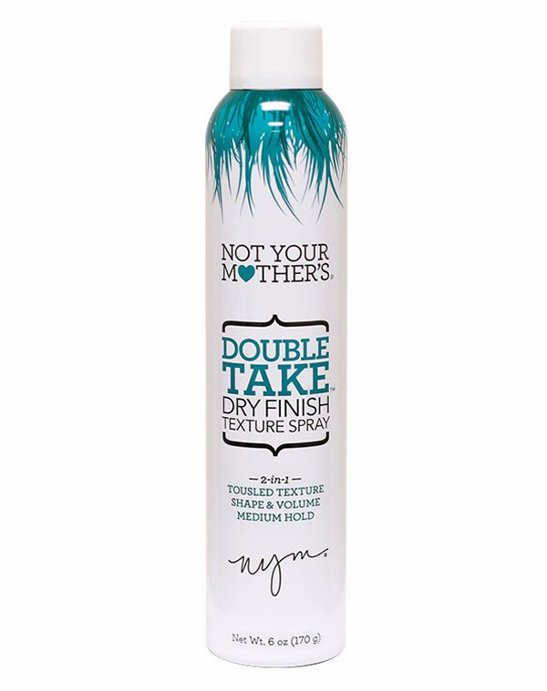 The Best Hair Texturizers In A Can | Beauty High Think of this like a grip you can spray into your hair. With quinoa, keratin, silk, and aloe leaf juice infused into the formula, this texture holding spray is equal parts hair treatment as it is styling product. (Where to Buy: Not Your Mother's Double Take Dry Finish Texture Spray, $7 at NYMBrands.com)  Read more: http://beautyhigh.com/sprayable-hair-texturizers/#ixzz3SrqNAl35