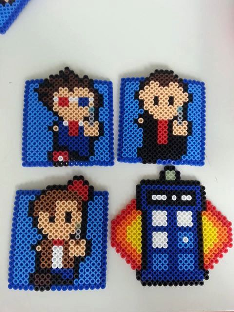 Doctor Who and the Tardis Coaster Set