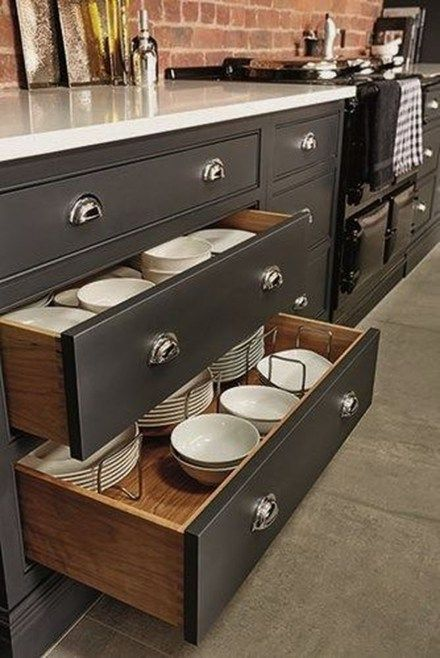 30 Fancy Kitchen Cabinet Organization Ideas New House Pinterest