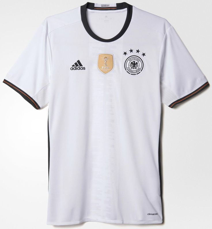 The new Adidas Germany Euro 2016 Home Kit returns to black shorts, while also featuring new positioning for the iconic Adidas 3 Stripes. The spectacular new Germany 2016 Away Jersey is reversible.