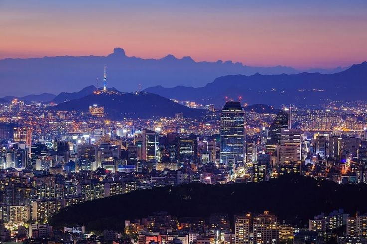 Seoul City with N Tower by Panya Khamtuy Gangnam District with N Tower, South Korea - Discover Seoul - Google+