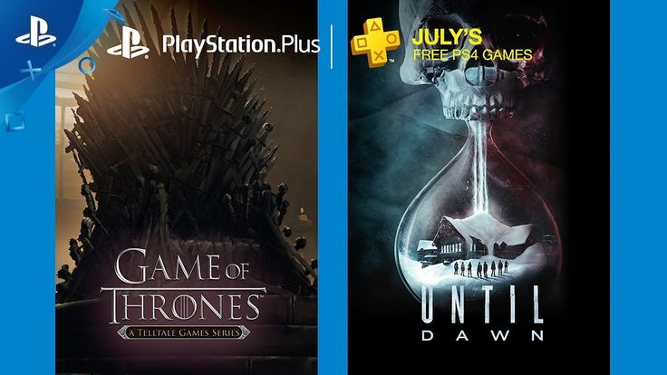 PlayStation Plus Free PS4 Games Lineup July 2017 PlayStationPlus membership includes free games and online multiplayer on PS4 systems. In June PS Plus membership includes Until Dawn and Game of Thrones. Visit http://ift.tt/1kdqgQt to learn more! Rated Mature: Blood and Gore Intense Violence Sexual Themes Strong Language Active membership required to access PS Plus features and benefits. PS Plus is available to legal U.S. and Canadian residents with a SEN account who are 18 years or older…