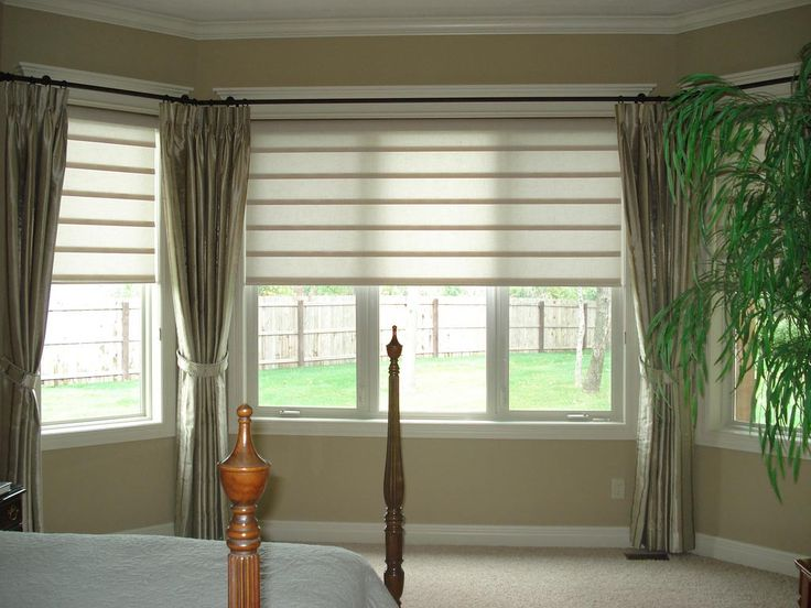Curtains Ideas blinds and curtains for bay windows : Bay Window Blind Ideas | Window Blinds | Pinterest