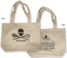 Sea Shepherd reusable tote bag