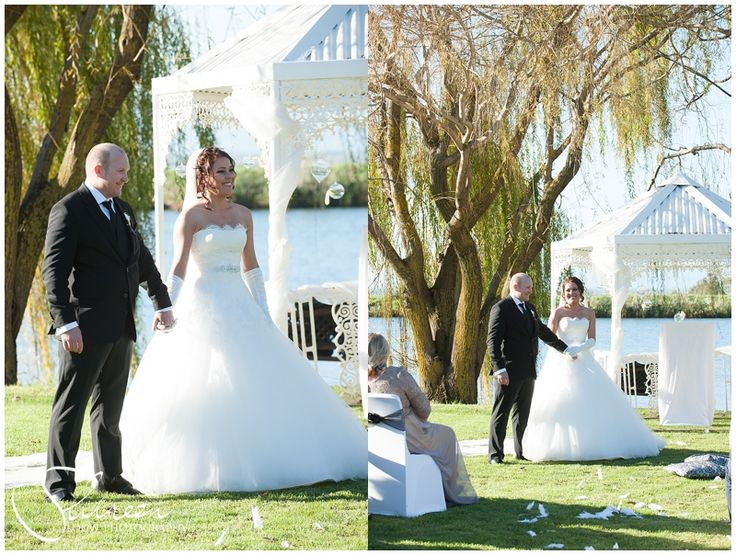 Bride Erlise in her Nadia dress by Maggie Sottero