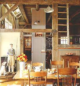 Converted late 18th century barn in Massachusetts