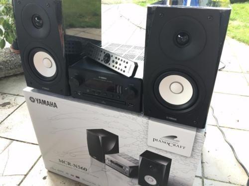 YAMAHA MCR-N560, HIFI Stereo - Anlage,MP3,iPhone,iPad,CD in Berlin - Pankow | Weitere Audio & Hifi Komponenten gebraucht kaufen | eBay Kleinanzeigen