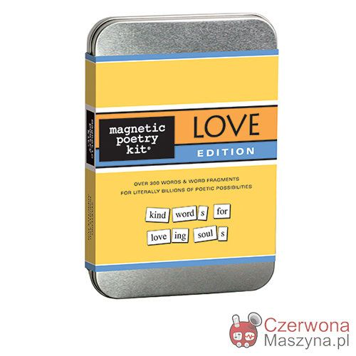 Zestaw magnesów Magnetic Poetry Love - CzerwonaMaszyna.pl
